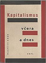 Dobb: Kapitalismus včera a dnes, 1961