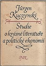 Kuczynski: Studie o krásné literatuře a politické ekonomii, 1956