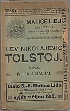 Máchal: Lev Nikolajevič Tolstoj, 1912