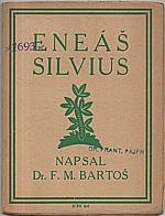 Bartoš: Eneáš Silvius, 1925