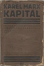 Marx: Kapitál : Kritika politické ekonomie. Svazek první. Kniha  první.: Výrobní proces kapitálu, 1920