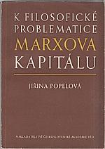 Popelová: K filosofické problematice Marxova Kapitálu, 1954