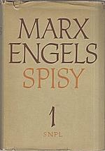 Marx: Spisy. Svazek 1., 1956