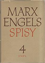 Marx: Spisy. Svazek  4., 1958