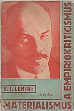 Lenin: Materialismus a empiriokriticismus, 1933