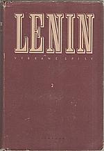 Lenin: Vybrané spisy ve dvou svazcích. Svazek 2., 1950