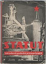 : Statut národních podniků průmyslových, 1950