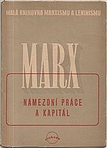 Marx: Námezdní práce a kapitál, 1946