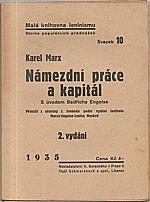 Marx: Námezdní práce a kapitál, 1935