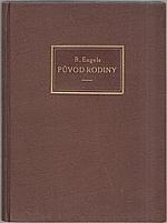 Engels: Původ rodiny, soukromého vlastnictví a státu, 1920