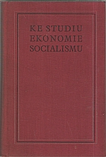 : Ke studiu ekonomie socialismu, 1952