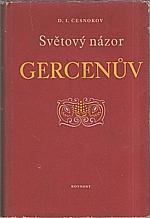 Česnokov: Světový názor Gercenův, 1952