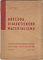 Antar: Abeceda dialektického materialismu, 1945