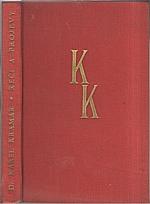 Kramář: Řeči a projevy předsedy první vlády československé Dr. Karla Kramáře, 1936