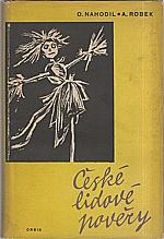 Nahodil: České lidové pověry, 1959