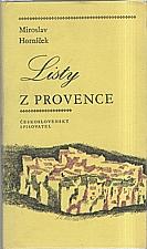 Horníček: Listy z Provence, 1971
