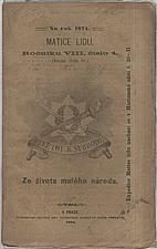 Tůma: Ze života malého národa, 1874