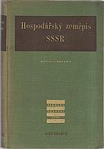 Baranskij: Hospodářský zeměpis SSSR, 1952