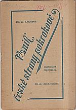 Chalupný: Vznik české strany pokrokové, 1911