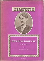 Barbusse: Výbor z díla. II., Povídky - Stati, 1953