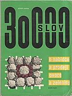 Kafka: 30000 slov o nabídce a prodeji ovoce a zeleniny, 1968