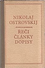 Ostrovskij: Řeči, články, dopisy, 1951