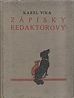 Vika: Zápisky redaktorovy, 1924