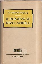 Wolfe: K domovu se dívej, anděle, 1948
